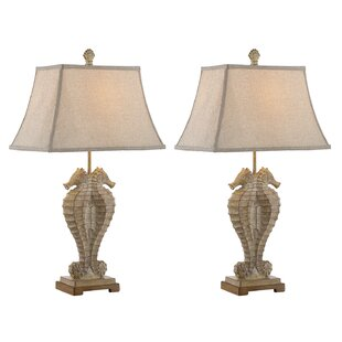 Suki Seahorses 31 Table Lamp (Set of 2)