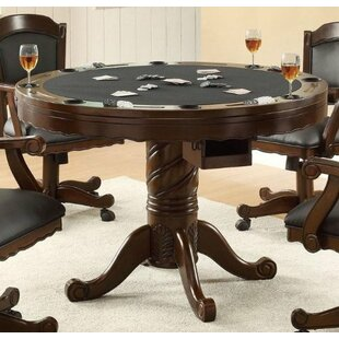 Convertible Dining Table Poker Card Tables Youll Love Wayfair