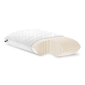 Zoned Dough Low Loft Plush Memory Foam Pillow by Malouf