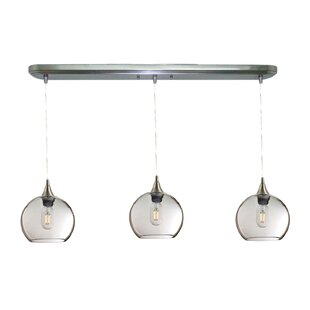 Auguste Linear 3-Light Kitchen Island Pendant (Set of 3) by Ivy Bronx