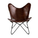 Wilbraham Butterfly Chair by Three Posts