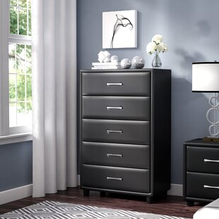 Orren Ellis Amezcua 5 Drawer Chest