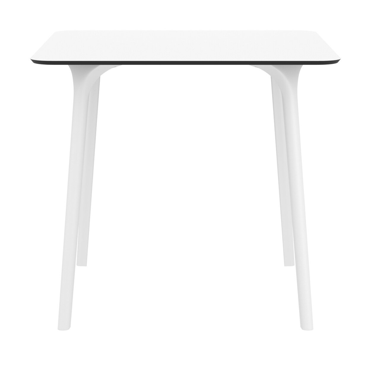 Goggins Plastic Resin Dining Table