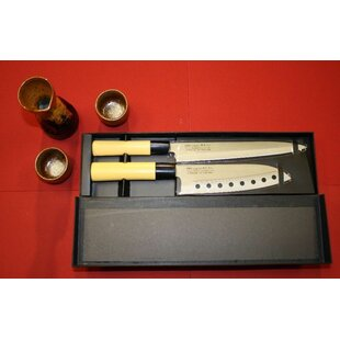 Pro Line 2 Piece Traditional Sushi Chef Knife Starter Set