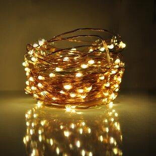 Hometown Evolution, Inc. 100-Light 33 ft. Fairy String Lights