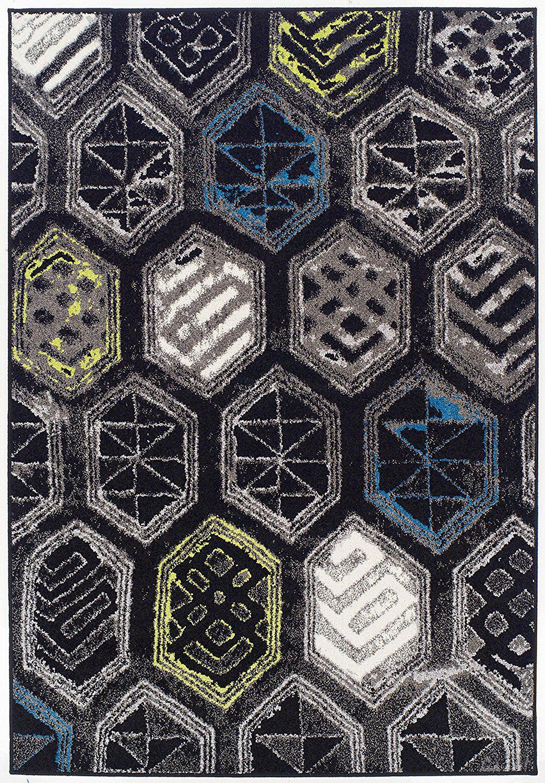 Ebern Designs Melbourne Wool Black Indoor Outdoor Area Rug Reviews Wayfair