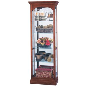 Portland Lighted Curio Cabinet by Howard ..