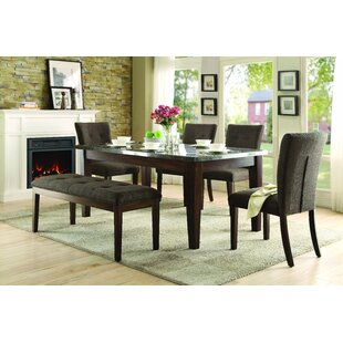 Dorritt 6 Piece Dining Set by Homelegance