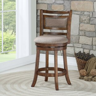 Read Reviews Tad 24 Swivel Bar Stool by Canora Grey Reviews (2019) & Buyer's Guide