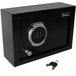 Symple Stuff Aquin Digital Home Security Safe with Electronic/Key Lock
