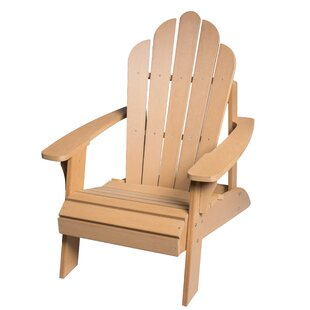 Highland Dunes Horncastle Composite Wood Outdoor Adirondack Chair