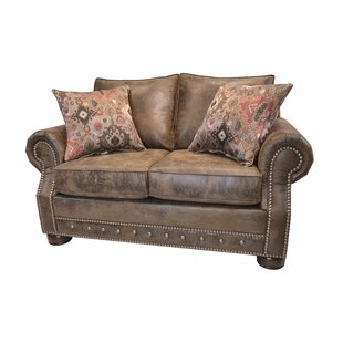 Loon Peak Spears Southwestern Loveseat