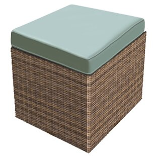 Forever Patio Cypress Ottoman with Cushion