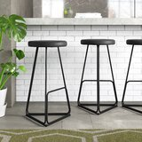Delta 29.5'' Bar Stool (Set of 2) by m.a.d. Furniture