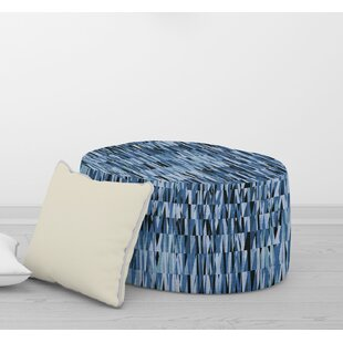 WEXLER Pouf By Becky Bailey by Bungalow Rose