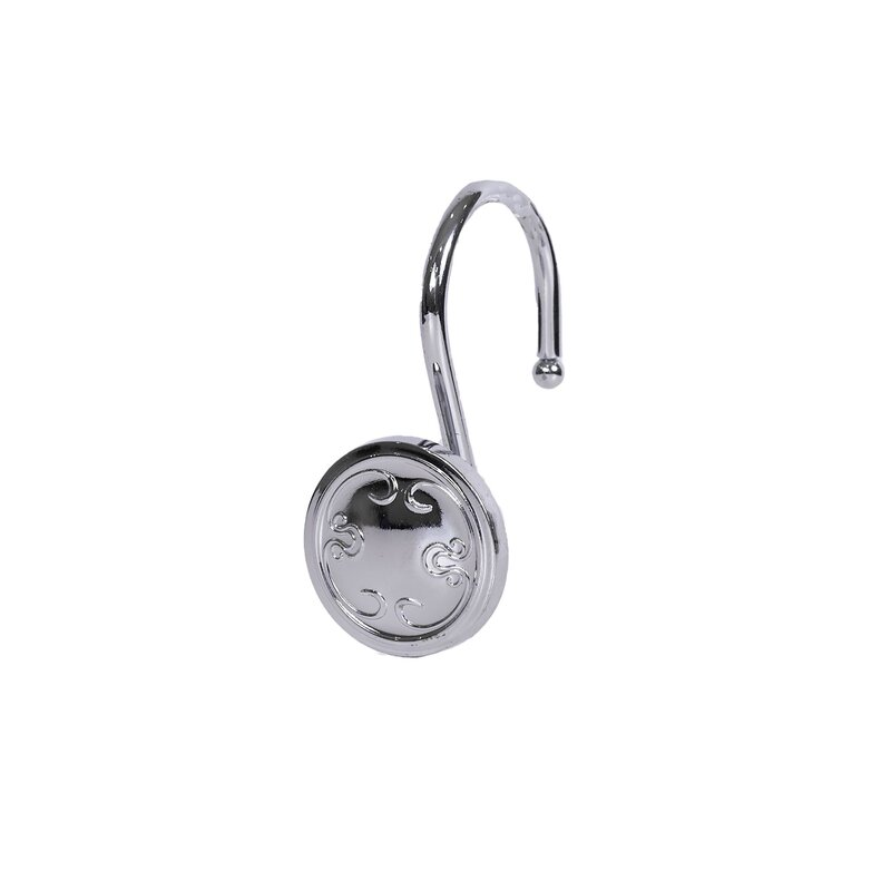 Elegant Home Fashions Touch Up Shower Curtain Hooks Wayfair