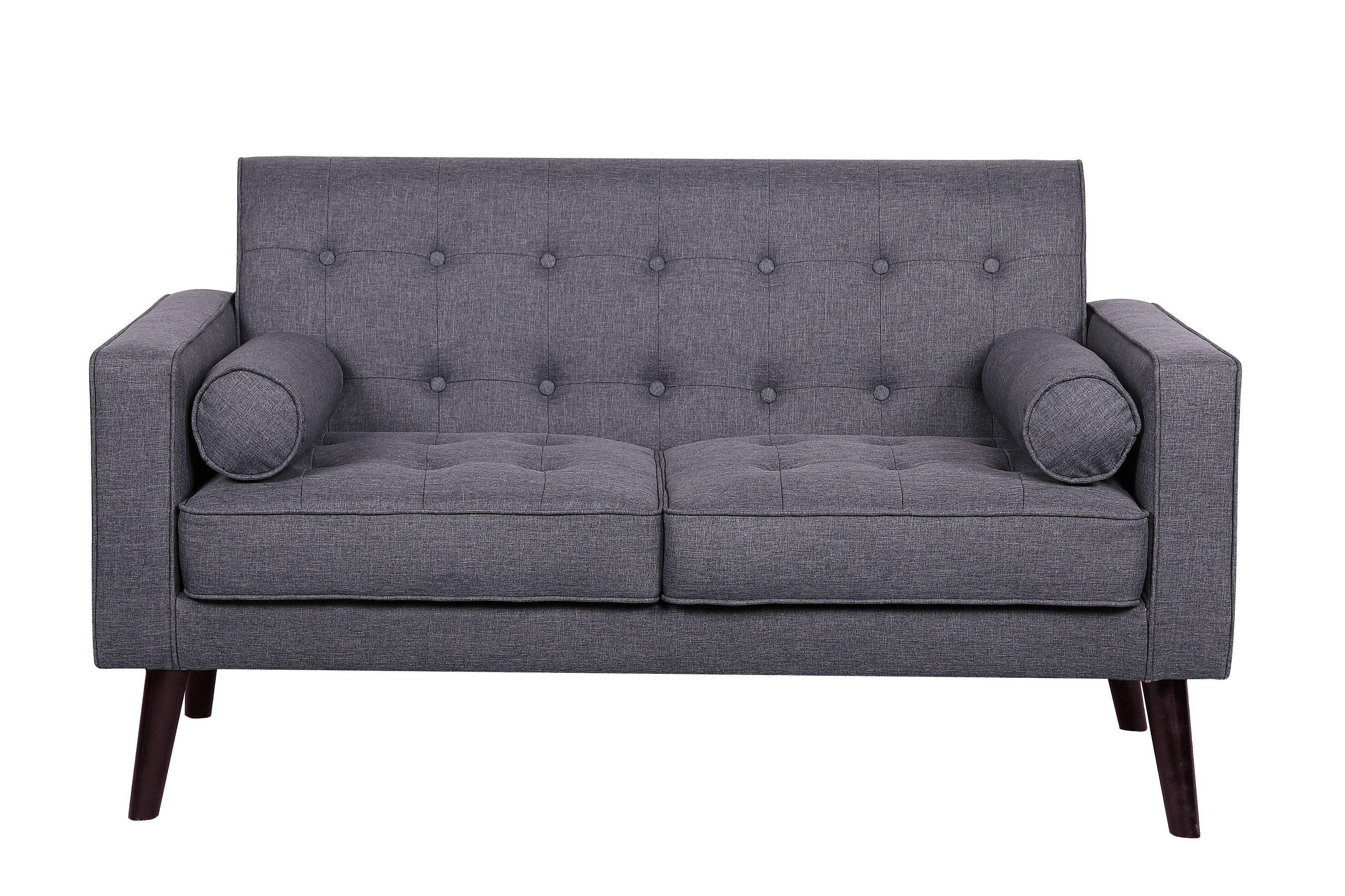 products by white pearl seats tufted furniture profile and low wolf coaster loveseat love