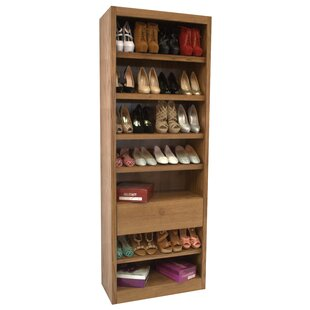 Find for 7-Tier 28 Pair Shoe Rack By Concepts in Wood