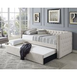 Emerico Twin Daybed with Trundle