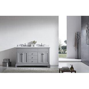 Pineville 60 Double Bathroom Vanity Set By Charlton Home