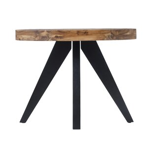 Union Rustic Serita Oval Console Table