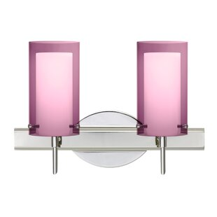 Pahu 2-Light Vanity Light by Besa Lighting