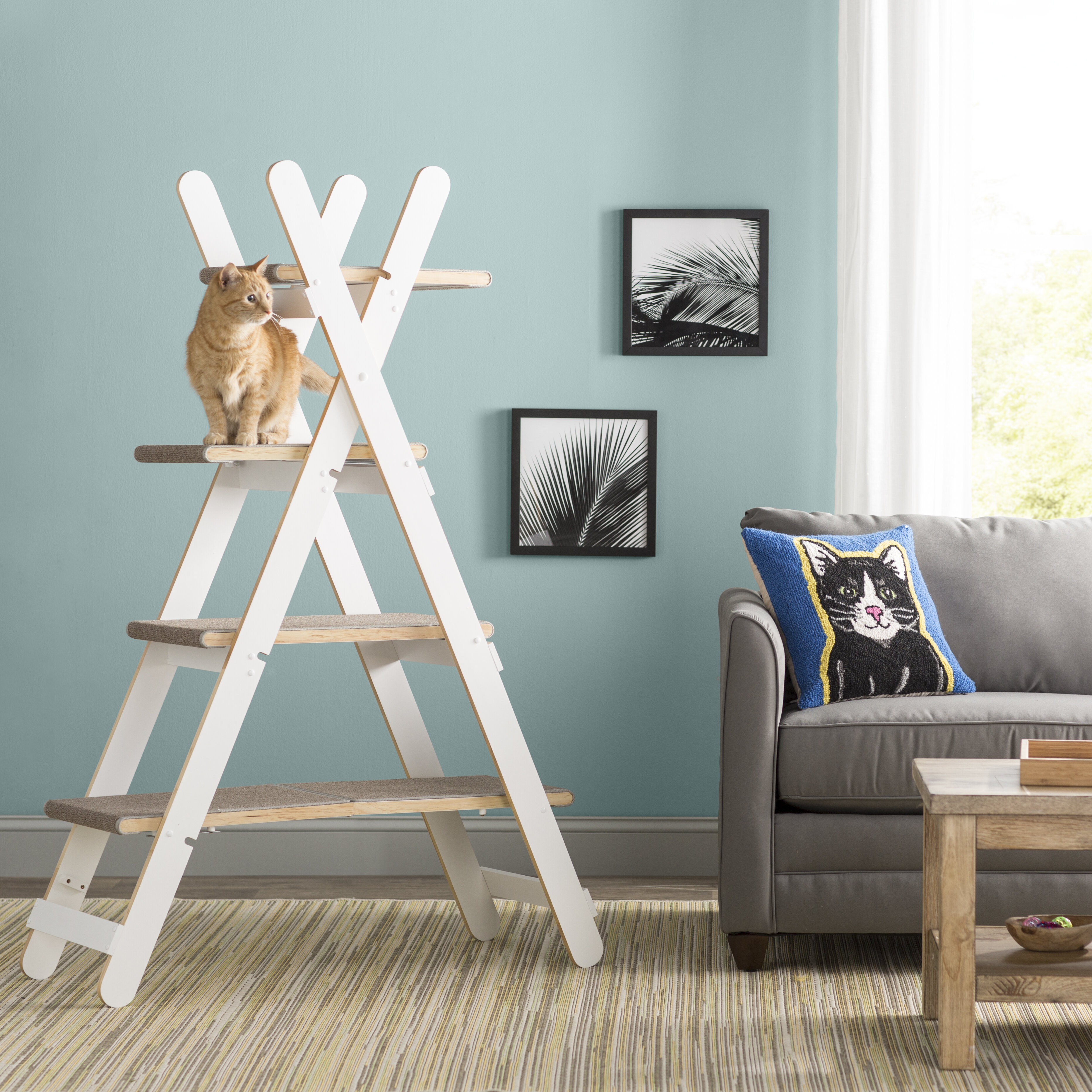 Archie Oscar Algonquin 60 Modern Folding Cat Tree Reviews