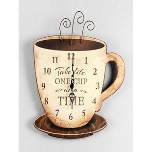 Coffee Kitchen Clocks   Wayfair