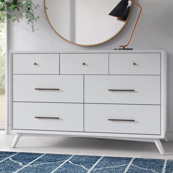 Modern Contemporary Parocela 7 Drawer Dresser Allmodern