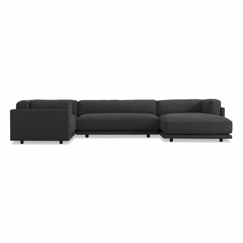 Blu Dot Sunday Modular 156 Quot Sectional Sofa Perigold