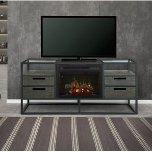 Price comparison Ivan TV Stand for TVs up to 55 with Fireplace by Dimplex Reviews (2019) & Buyer's Guide