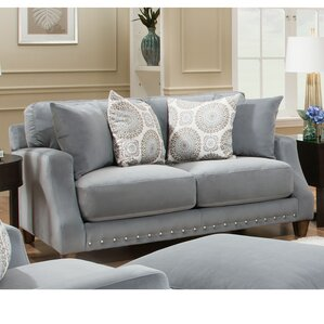 Bilberry Loveseat by World Menagerie