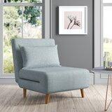 Tannis Twin 30.31 Pillow Back Futon Chair by Latitude Run®