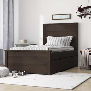 Stella Twin Panel Bed with Trundle
