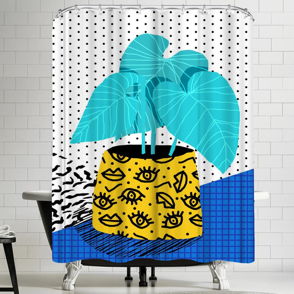East Urban Home Wacka Designs Totes Magoats Single Shower Curtain Wayfair