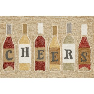 Birchview Cheers Neutral Indoor/Outdoor Area Rug