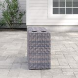 Almyra Wicker Side Table