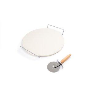3-Piece Round Pizza Stone Set