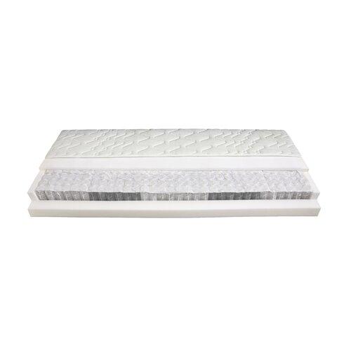 Stiftung Warentest Testsieger: 5-Zonen Taschenfederkernmatratze Polar | Schlafzimmer > Matratzen > Federkernmatratzen | Federn - Polyester | Malie