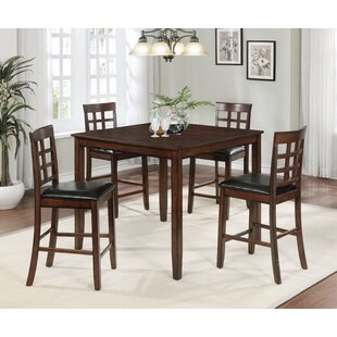 Flemming 5 Piece Dining Set Red Barrel Studio