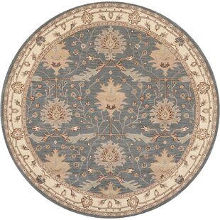 Constance Hand-Tufted Wool Blue Area Rug by Birch Lane™ Heritage
