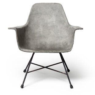 Hauteville Dining Arm Chair by Lyon Beton