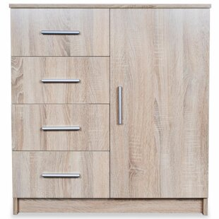 Lucretia 4 Drawer Combi Chest By Bloomsbury Market