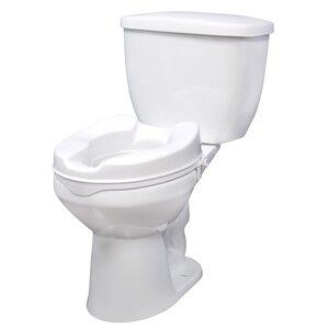 Längliche Erhöhter Toilettensitz von Drive Med..