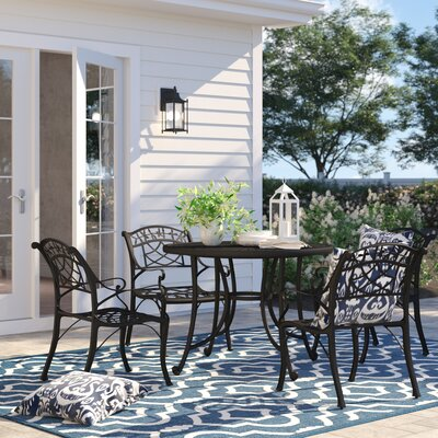 Carmen 5 Piece Dining Set by Sol 72 Outdoor Cool