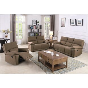 Westcliffe Reclining Configurable Living Room Set by Latitude Run