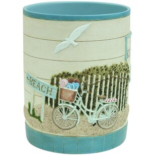 Bacova Guild Beach Cruiser Waste Basket