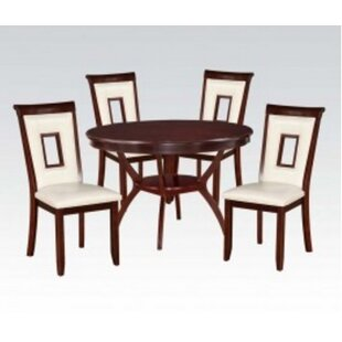 Syndra 5 Piece Dining Set by A&J Homes Studio Best Design