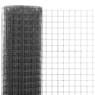 Cassan 2D Garden 0.05m X 1m Wire Fence By Sol 72 Outdoor