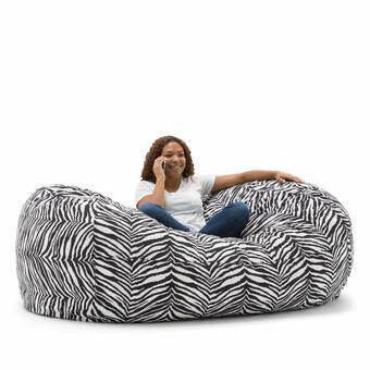 Miraculous Comfort Research Big Joe Media Bean Bag Sofa Reviews Wayfair Squirreltailoven Fun Painted Chair Ideas Images Squirreltailovenorg